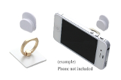 SQUARE CELL PHONE RING HOOK #XRI0002-GWH