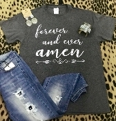 FOREVER & EVER AMEN TSHIRT 8PK $48.00