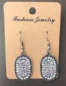 PAVE CRYSTAL EARRING #ER174X124AA