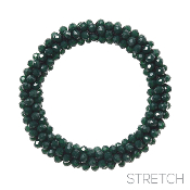 BEADED STRETCH BRACELET #82973EM