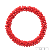 BEADED STRETCH BRACELET #82973LSI