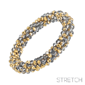BEADED STRETCH BRACELET #82973MS