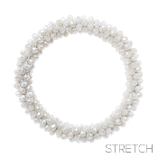BEADED STRETCH BRACELET #82973LCT