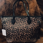 LEOPARD HANDBAG #HD3243LP $21.50