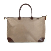 LARGE NYLON DUFFEL/OVERNIGHTER #1294TAUPE