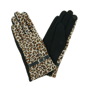 LEOPARD PRINT SMART TOUCH GLOVES #MG0023 $6.50