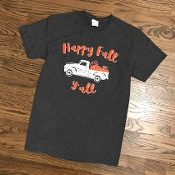 HAPPY FALL Y'ALL TSHIRTS 8PK $48