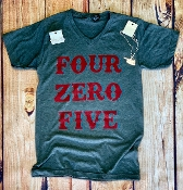 FOUR ZERO FIVE AREA CODE SHIRTS 8PK $60