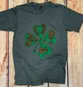 ALL THE LUCK CHARCOAL VNECK TSHIRTS 8PK $60