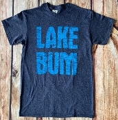LAKE BUM HEATHER NAVY TSHIRT 8PK $48.00
