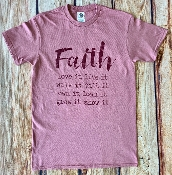 FAITH PETAL COLOR TSHIRT 8PK $48.00