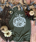 HAPPY FALL TSHIRT 8PK $48