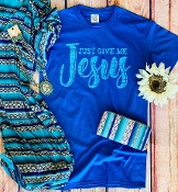 JUST GIVE ME JESUS TSHIRT 8PK $48