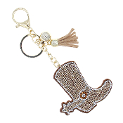 BOOT BLING KEYCHAIN #31447LCT-G