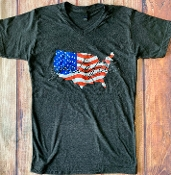 GRATEFUL USA VNECK TSHIRTS SIZE SMALL $7.50